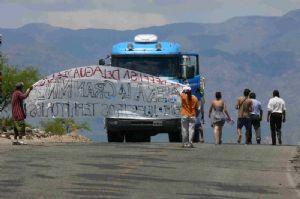 Reprimen corte selectivo en Belén, detienen a vecinos y periodistas