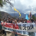 10 mil personas marcharon a la casa de gobierno de La Rioja