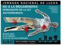 Jornada Nacional de lucha contra la Megaminería y la Derogación de la Ley AntiTerrorista