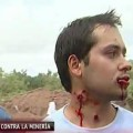 Violento desalojo y represión a manifestantes en Tinogasta