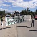 Comenzó acampe contra megaminería en Cerro Negro