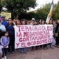 Vecinos marcharon por la derogación de la Ley Antiterrorista y en solidaridad con Catamarca