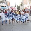 Marcha contra la megaminería en la capital neuquina