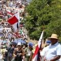 Ya son 5 dias de paro contra la mineria en Panama