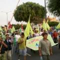 Sexto día de la Gran Marcha Nacional del Agua