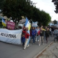 Postales de otra marcha multitudinaria contra la megaminería