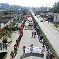 Movilización indígena y campesina por el territorio y contra minería