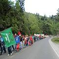 Sigue la marcha de indígenas y campesinos