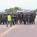 Policía provoca y mide fuerzas en el corte de Famatina