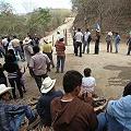 Luego del desalojo continúa la protesta pacífica en minera