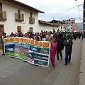 Marcharon en Cajamarca en rechazo al peritaje de Conga