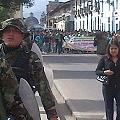 Exitoso paro regional contra Conga a pesar del despliegue militar