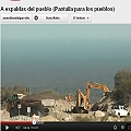 Video que registra el nuevo derrame de Minera La Alumbrera