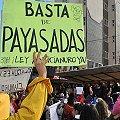 Aniversario de Bariloche con protesta contra megaminería