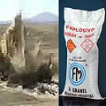 Con explosivos el estado se suma a la destrucción megaminera