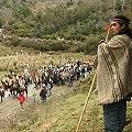 Comuneros y mapuche boicotean importante proyecto minero en Carahue