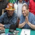 El Gobierno logra acuerdo con mineros para nacionalizar Colquiri
