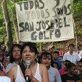 Lidereza de resistencia contra minería de oro víctima de atentado