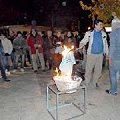 El Club Atlético Chilecito quemó las camisetas mineras