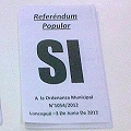 Darío Aranda comentó sobre la cobertura miediática del referéndum de Loncopué