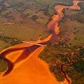 Barrick lo hizo: Foto de la contaminación del río Yuna