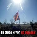 Tensión y amenazas en el Acampe Nacional contra la Megaminería en Cº Negro