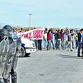 Integración de la patota que atacó a los asambleístas