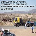 Grupos antimineros bloquearon el paso de camiones en la Alumbrera