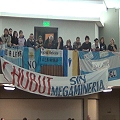 Carnicería en la Legislatura de Chubut
