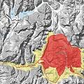 Presentan mapa de riesgo ante eventual erupción de volcán San José