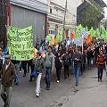 Continúan las protestas contra la mega minería