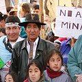 Mapuches se manifestaron en contra de toda actividad minera