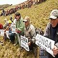 Opositores al proyecto minero Conga anuncian paro de 48 horas