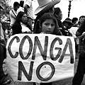 Marchan y protestan en Bambamarca pese a estado de emergencia