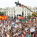 Marcha rechazó a Conga y exigió cambio de gabinete ministerial