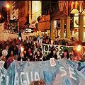 Marcharon en Bariloche en apoyo a Catamarca y contra la megaminería. Dos manifestantes golpeados