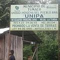El Pueblo Awá desaloja la empresa minera «La Esperanza»