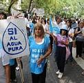 Juntaron 35 mil firmas para defender la Ley contra la minería contaminante