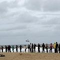 Vecinos detenidos en protesta contra puerto minero-papelero