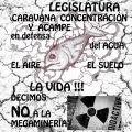 Contra la megaminería: caravana, concentración y acampe en la Legislatura