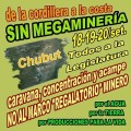 Caravana, concentración y acampe rechazando la megaminería hidroquímica en Chubut
