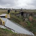 Analizan efluentes que Minera La Alumbrera arroja en un canal
