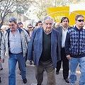 Mujica no entregó premio en exposición rural porque protestaban contra la megaminería