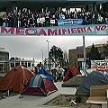 «Acampe en Legislatura: ensayando la resistencia»