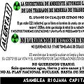 Asamblea Riojana Capital denuncia continuidad de trabajos de minería de uranio