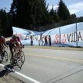 El NO a la megaminería presente en el Tour de France