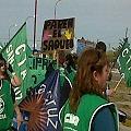 Marcharon contra la megaminería en San Julián
