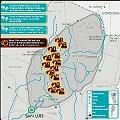 Proyectos mineros en los ríos de las sierras centrales de San Luis