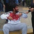 Decenas de heridos por represión en Rawson