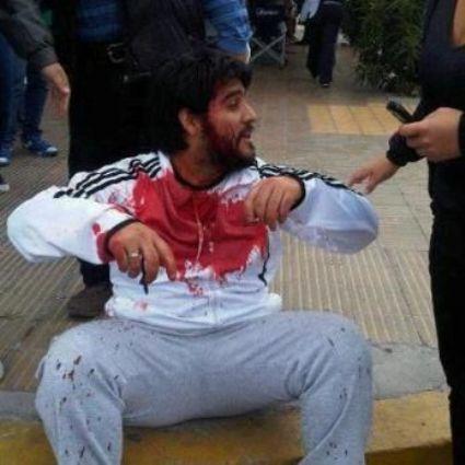 Asamblea Buenos Aires NO A LA MINA en repudio a la represión en Rawson